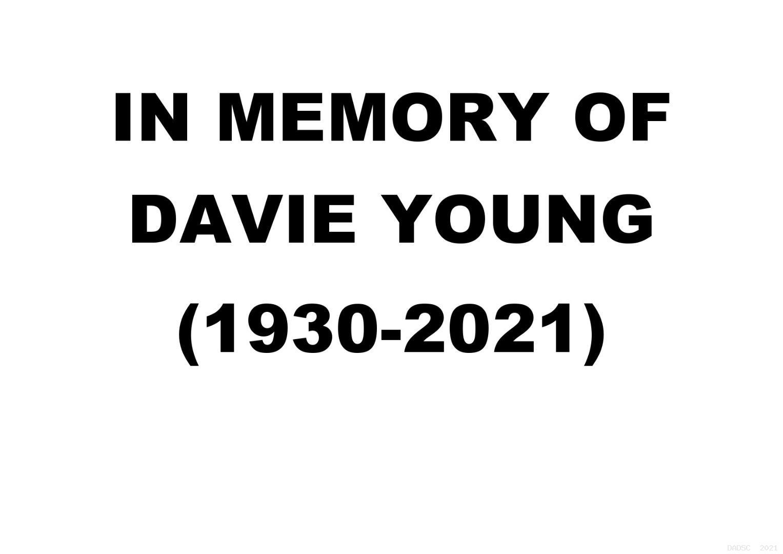 Davie Young (1930-2021)