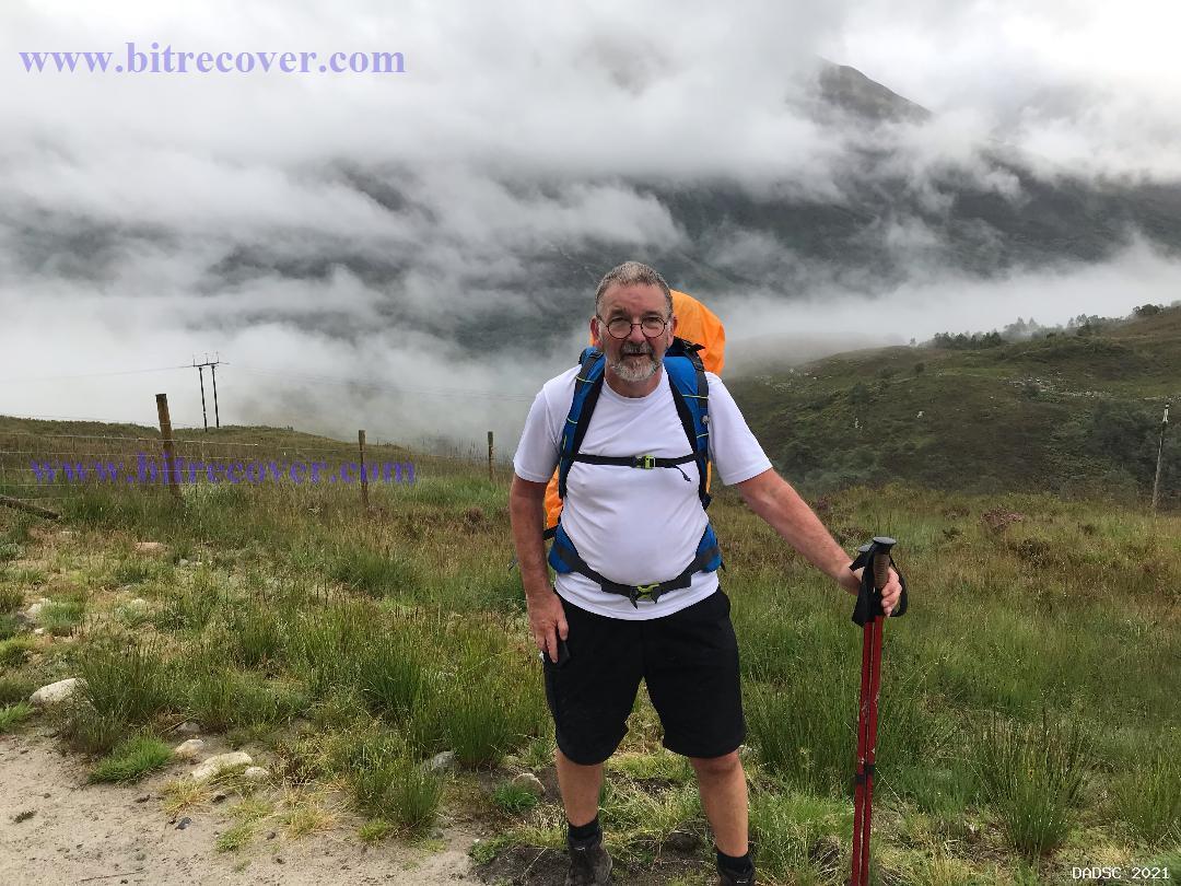 Frank Walks the West Highland Way