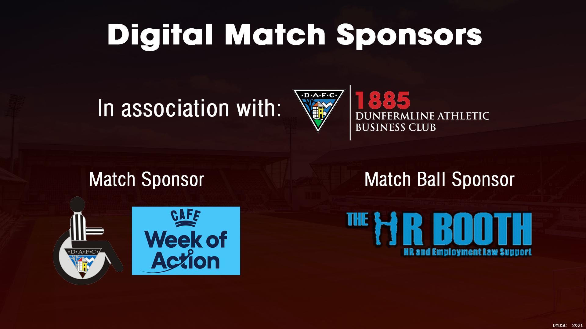DADSC & CAFE Sponsor DAFC Match