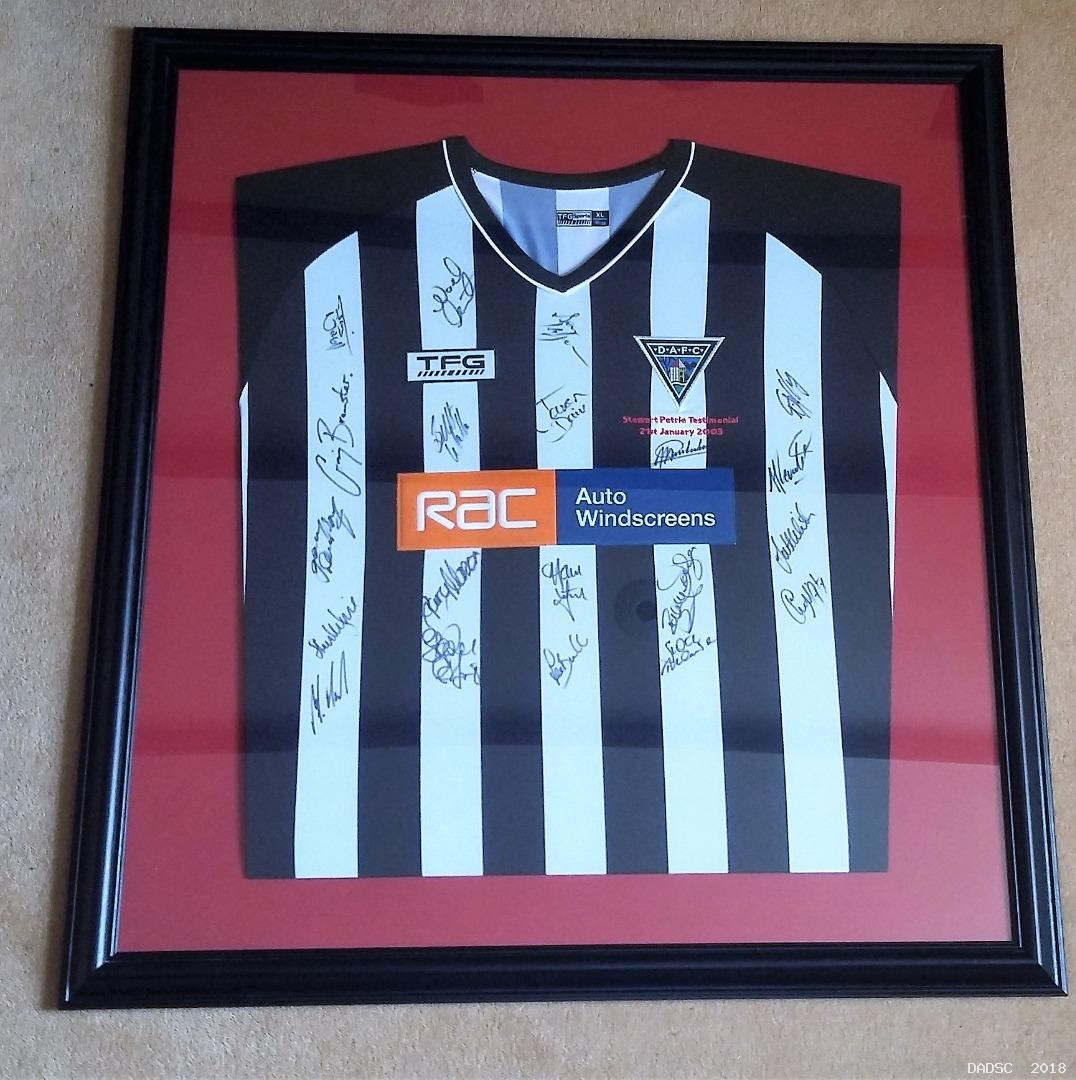 Stewart Petrie Shirt Auction