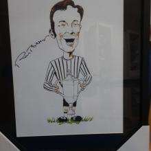 Roy Barry Caricature